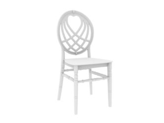 Plastová banketová stolička