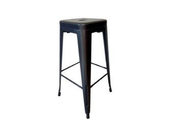 Stolička z oceľovej konštrukcie