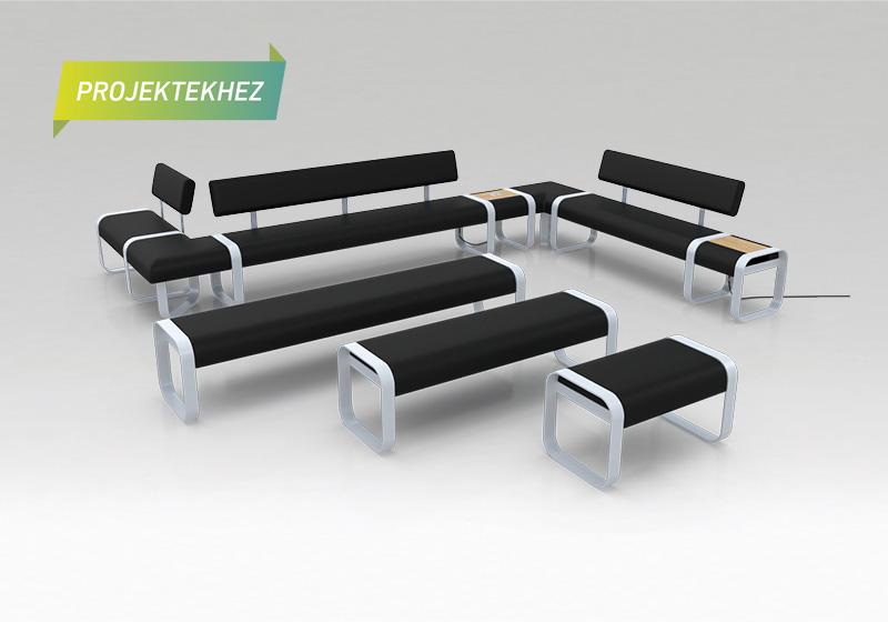 Klass lavice aj nabíjacími prvkami
