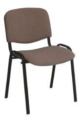 Stolička ISO 1, čierna konštrukcia