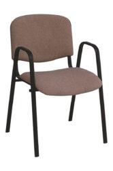 Stolička ISO 2, čierna konštrukcia