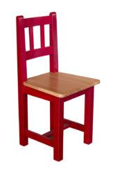 Stolička Balu drevená