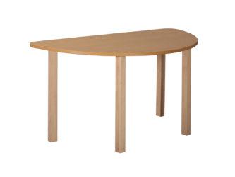 Rozprávkový stôl polkruh, drevená konštrukcia
