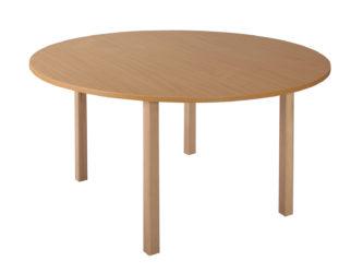 Rozprávkový stôl kruh, drevená konštrukcia - 120 cm
