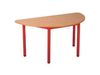 Rozprávkový stôl  polkruh, kovová konštrukcia