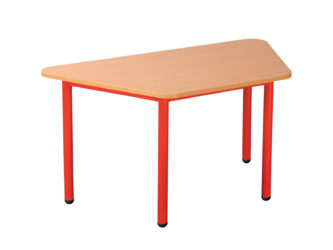 Rozprávkový stôl  lichobežník kovová konštrukcia