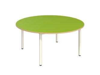 Rozprávkový stôl kruh s dekoritovou doskou