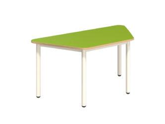 Rozprávkový stôl lichobežník s dekoritovou doskou