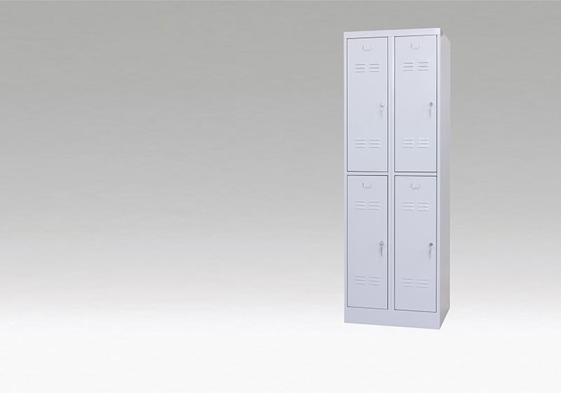 Šatňové skrine s delenými dverami