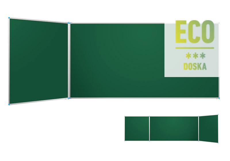 Classic ECO zelené nástenné tabule s krídlami