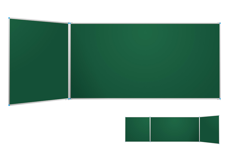 Classic zelené nástenné tabule s krídlami