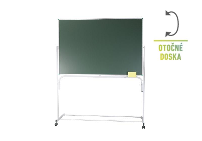 Classic stojanová tabuľa otočná zelená