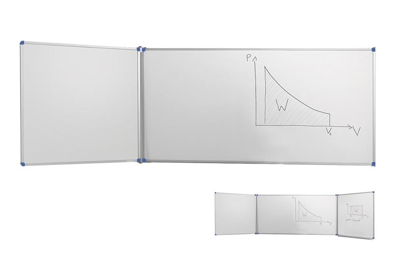 Classic biele nástenné tabule s krídlami