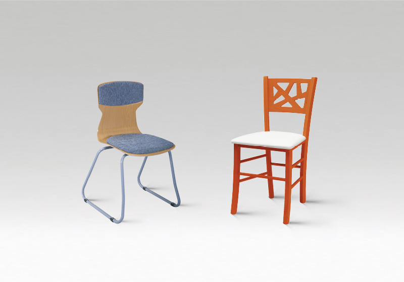 Stoličky do knižnice