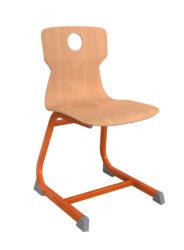 Geo Soliwood Ergo stolička, s otvorom na ruky