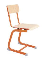 Kovová konštrukcia, sedák a operadlo buková lakovaná preglejka, s hojdacím mechanizmom