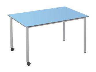 120x73 cm obdĺžnikový stôl, kolieska