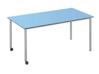 160x73 cm obdĺžnikový stôl, kolieska