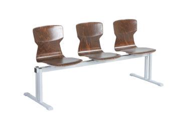Soliwood radové stoličky 3-miestne