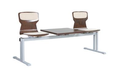 Soliwood radové stoličky 2-miestne, so stolíkom