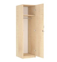 1 dverová, 1 policová, bezpečnostný zámok