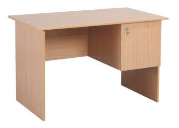 Učiteľský písací stôl, laminátová doska. Nezaoblená