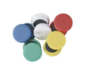 Tabuľové magnetky 25 mm, 10 ks