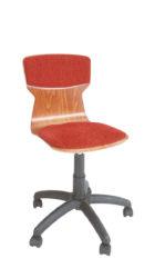 Otočná stolička s piestovým mechanizmom
