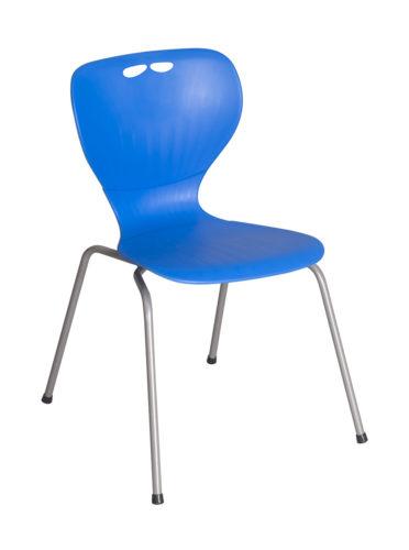 Flex stolička, Spider nohy, plastový sedák