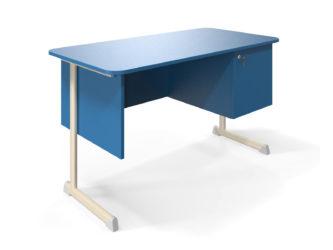 Alex učiteľský stôl, so skrinkou, laminátová doska