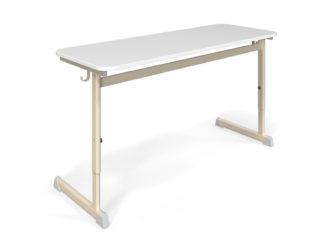 Alex 2-miestny stôl, laminátová doska, zaoblená