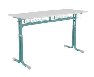 Nataša študentský stôl, laminát, zaoblená doska stola