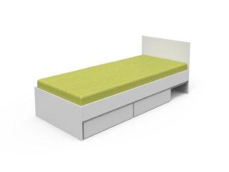 laminátový korpus postele, s perinákmi
