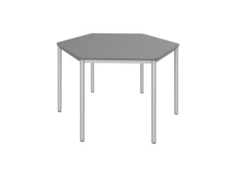Šesťhranný stôl